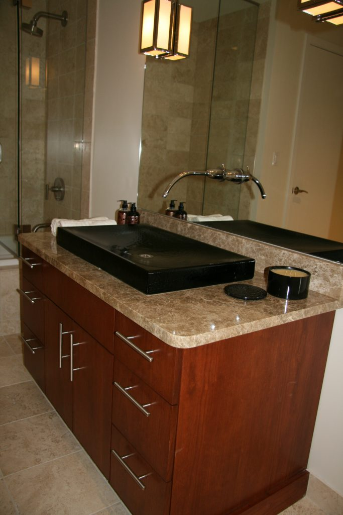 Dons Custom Longmont and Boulder Countertops and Cabinets 6a 1 683x1024 - Unique Bath Sink and Cabinet
